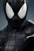 1:1 Scale Life Size Comic Spiderman Bust (BLACK)